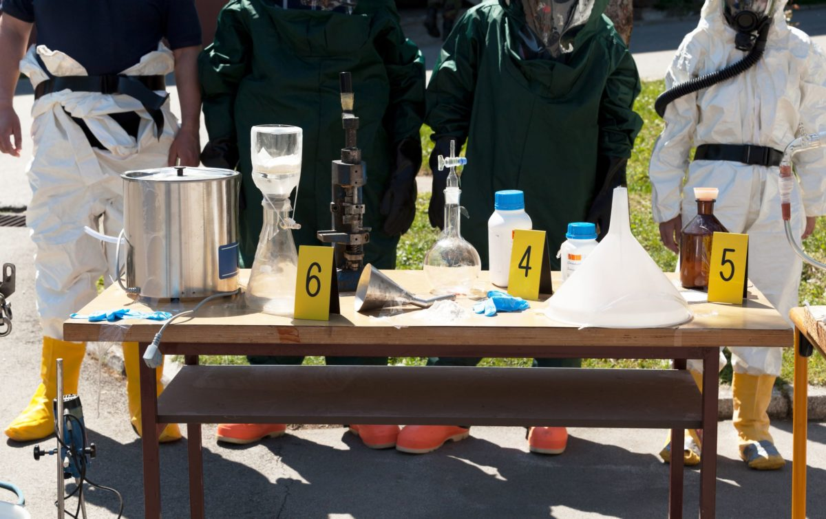 Meth Labs with the BIOClean Team